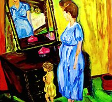 Reflections of a Young Mother by hickerson
