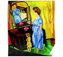 Reflections of a Young Mother Poster