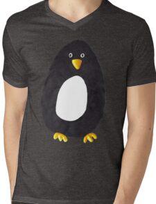 Ben Penguin Mens V-Neck T-Shirt