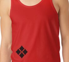 Minimalist Harley Quinn v4: 4 Black Diamonds Tank Top