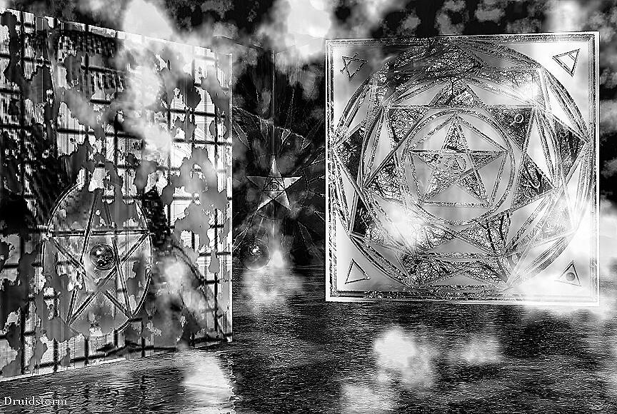 Path of Grey by Druidstorm