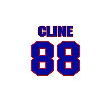 National football player Tony Cline jersey 88 Photographic Print