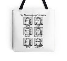 The Moods of George Washington Tote Bag