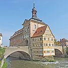 Town Hall in the Regnitz by Graeme  Hyde