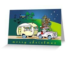 an aussie xmas Greeting Card