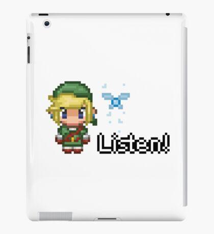 Pixel Link & Navi - Ocarina of Time iPad Case/Skin