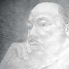 Martin Luther King, Jr. - Christ-like  by Charles Ezra Ferrell