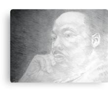Martin Luther King, Jr. - Christ-like  Metal Print