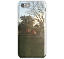 Fall Sunset iPhone Case/Skin
