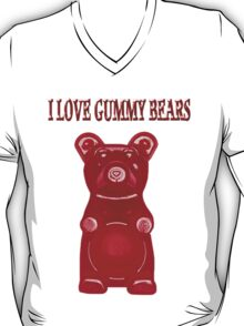 (✿◠‿◠) I LOVE GUMMY BEARS TEE SHIRT (✿◠‿◠) T-Shirt