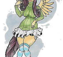 Fluttershy by Katunu
