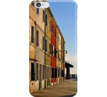 Late Afternoon on Burano iPhone Case/Skin