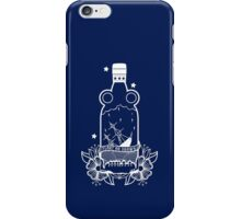 FLOAT OR DROWN - WHITE iPhone Case/Skin