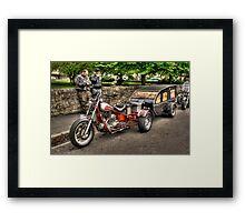 Hot Wheels Framed Print