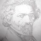 No Struggle...No Progess - Frederick Douglass by Charles Ezra Ferrell
