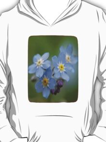 The Forget-Me-Nots of the Angels Greeting Card Quote T-Shirt