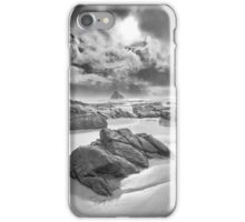 Storm, Anchor Bay, Mendocino County, California iPhone Case/Skin