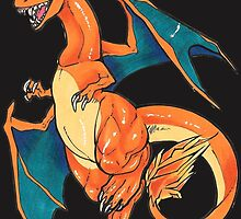 Charizard by Katunu