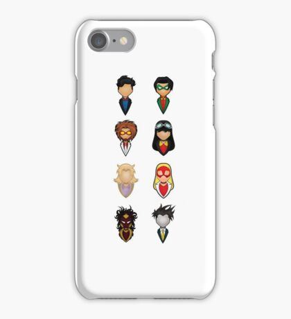 Young Justice - Collective iPhone Case/Skin