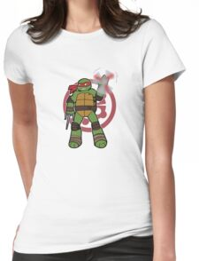 TMNT 2012 - Raph Womens Fitted T-Shirt