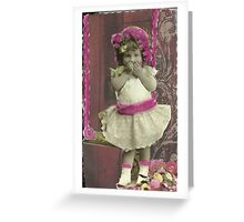 Opps! I think I was on those Swings a Little Too Long.. Greeting Card