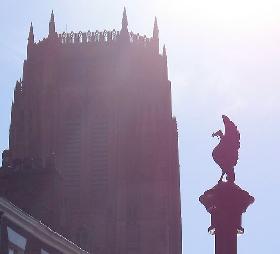 Cathedral and Liverbird by KMorral
