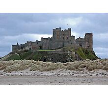 Bamburgh castle Northumberland Photographic Print