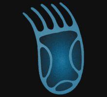 Native Symbols--Bear Track by Jan Landers