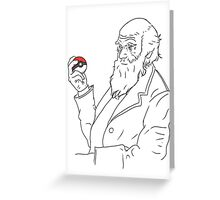 The Father of Evolution Greeting Card