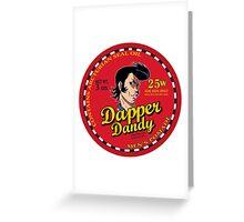 Space Dandy - Dapper Dandy Greeting Card