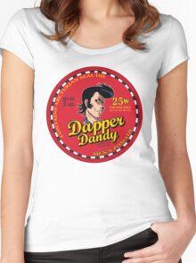 Space Dandy - Dapper Dandy Women's Fitted Scoop T-Shirt