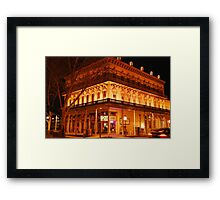2 Grand Saloon Framed Print