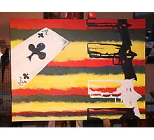 guns and aces Photographic Print