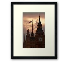 There's a Storm Brewing Framed Print