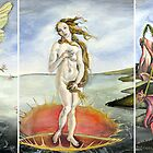 Venus on a Flytrap [full triptych] by GaeaElf