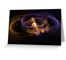Atomic Energy Greeting Card