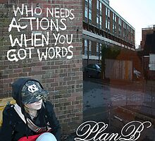 who needs actions when you got words?  by Ollie Burton
