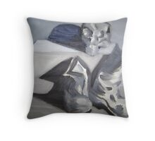 Worked to Death Throw Pillow
