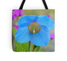 Dreams Of The Blue Poppy - Himalayan Blue Poppy - NZ Tote Bag