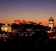 Edinburgh Skyline by Scott Harding