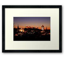 Edinburgh Skyline Framed Print