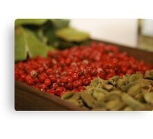 Pink Pepper & Cardamom  Canvas Print