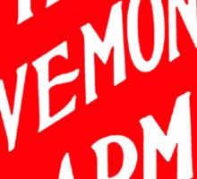 The Savemoney Army Sticker