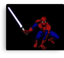 Spider-Man: Jedi Master Canvas Print