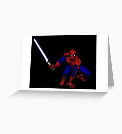 Spider-Man: Jedi Master Greeting Card