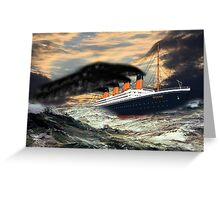 RMS Titanic, the Legend Greeting Card