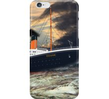 RMS Titanic, the Legend - all products iPhone Case/Skin