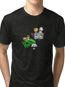 Cave Story - Fly Away Tri-blend T-Shirt