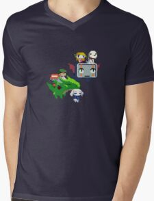 Cave Story - Fly Away Mens V-Neck T-Shirt