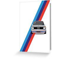 BMW 2002 Turbo Greeting Card